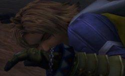Tidus est encore inconscient