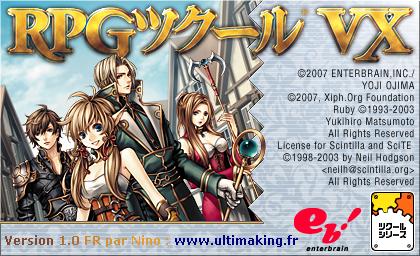 Télécharger le logiciel RPG Maker VX