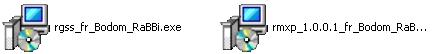 Fichier d'installation