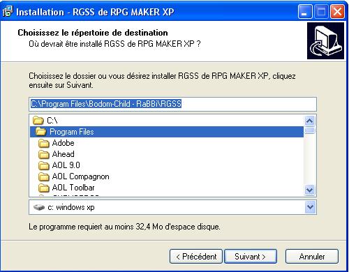 RGSS install